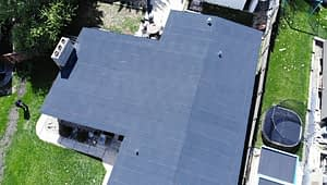 low slope roofs on residential propertie with a 2-ply SBS roof system