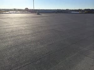 Commercial tar and gravel roof replacement for Mr George B. in Edmonton